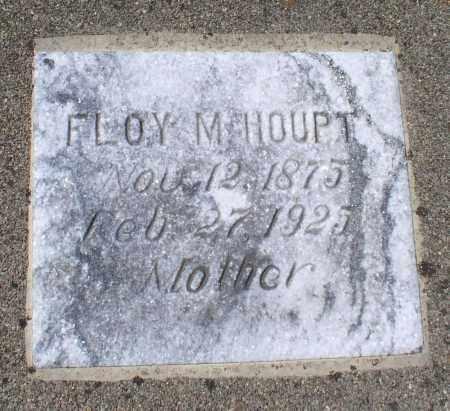 HOUPT, FLOY M. - Saline County, Arkansas   FLOY M. HOUPT - Arkansas Gravestone Photos