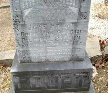 HOUPT, JAKE - Saline County, Arkansas | JAKE HOUPT - Arkansas Gravestone Photos