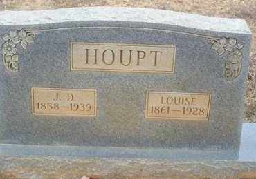 HOUPT, LOUISE - Saline County, Arkansas | LOUISE HOUPT - Arkansas Gravestone Photos