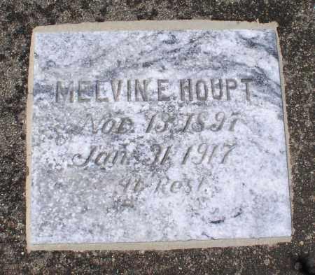 HOUPT, MELVIN E. - Saline County, Arkansas | MELVIN E. HOUPT - Arkansas Gravestone Photos