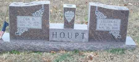 HOUPT, OBA DIAH - Saline County, Arkansas | OBA DIAH HOUPT - Arkansas Gravestone Photos