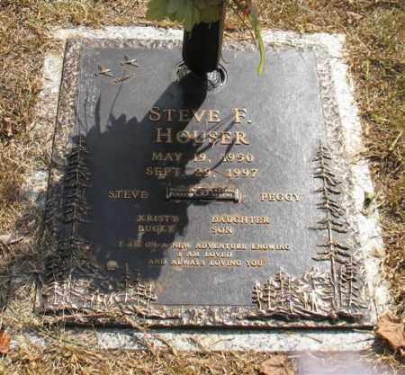 HOUSER, STEVE F. - Saline County, Arkansas   STEVE F. HOUSER - Arkansas Gravestone Photos