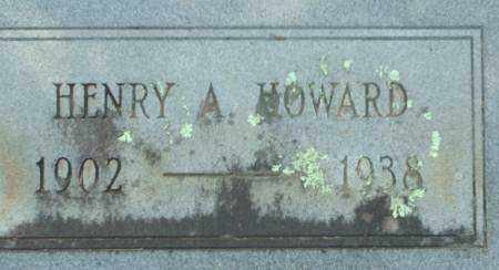 HOWARD, HENRY A. - Saline County, Arkansas | HENRY A. HOWARD - Arkansas Gravestone Photos