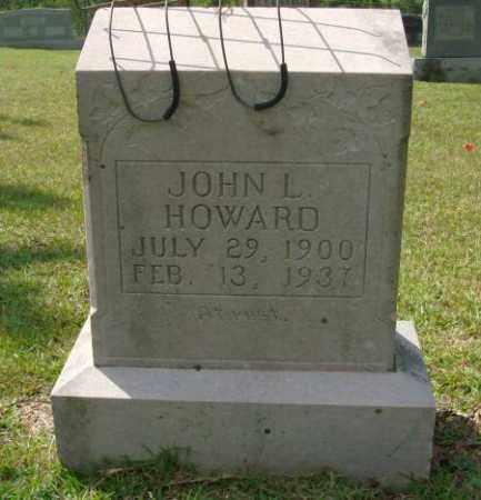 HOWARD, JOHN L - Saline County, Arkansas | JOHN L HOWARD - Arkansas Gravestone Photos