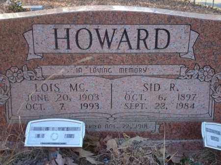 HOWARD, LOIS MC - Saline County, Arkansas | LOIS MC HOWARD - Arkansas Gravestone Photos