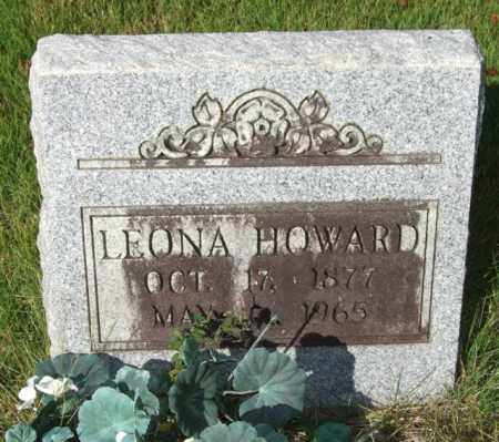 HOWARD, LEONA - Saline County, Arkansas | LEONA HOWARD - Arkansas Gravestone Photos