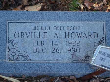 HOWARD, ORVILLE A - Saline County, Arkansas | ORVILLE A HOWARD - Arkansas Gravestone Photos