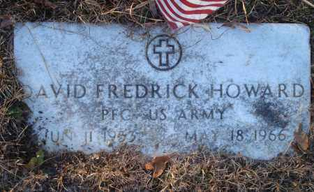 HOWARD (VETERAN), DAVID FREDRICK - Saline County, Arkansas | DAVID FREDRICK HOWARD (VETERAN) - Arkansas Gravestone Photos