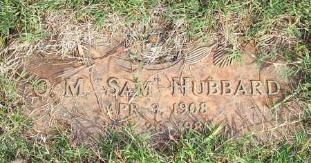 "HUBBARD, O. M. ""SAM"" - Saline County, Arkansas 
