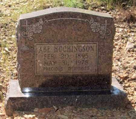 HUCHINGSON, ABE - Saline County, Arkansas | ABE HUCHINGSON - Arkansas Gravestone Photos