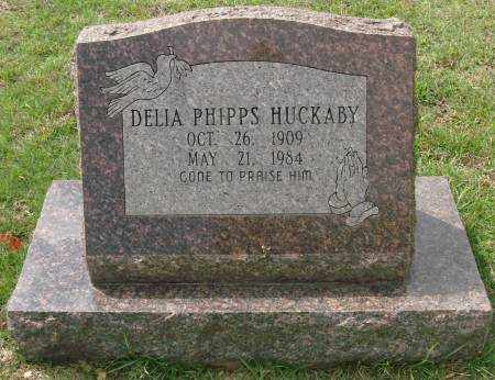 HUCKABY, DELIA - Saline County, Arkansas | DELIA HUCKABY - Arkansas Gravestone Photos