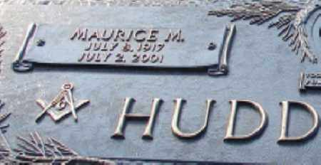HUDDLESTON, MAURICE M. (CLOSE UP) - Saline County, Arkansas | MAURICE M. (CLOSE UP) HUDDLESTON - Arkansas Gravestone Photos