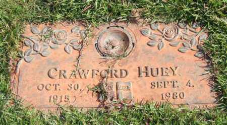 HUEY, CRAWFORD - Saline County, Arkansas | CRAWFORD HUEY - Arkansas Gravestone Photos