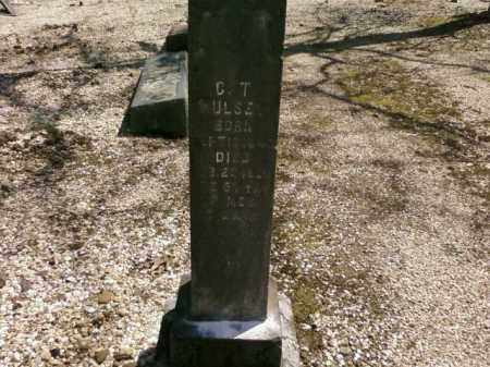 HULSEY, C.T. - Saline County, Arkansas   C.T. HULSEY - Arkansas Gravestone Photos