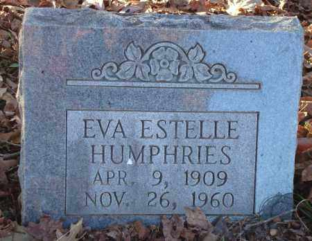HUMPHRIES, EVA ESTELLE - Saline County, Arkansas | EVA ESTELLE HUMPHRIES - Arkansas Gravestone Photos