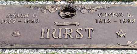 HURST, CLIFTON B. - Saline County, Arkansas | CLIFTON B. HURST - Arkansas Gravestone Photos