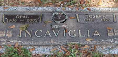 INCAVIGLIA, JOSEPH - Saline County, Arkansas | JOSEPH INCAVIGLIA - Arkansas Gravestone Photos