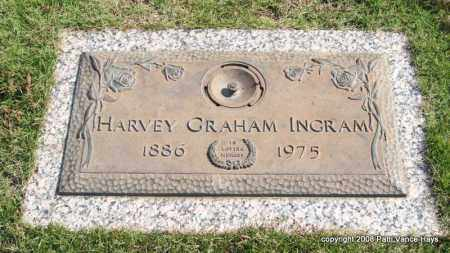 INGRAM, HARVEY GRAHAM - Saline County, Arkansas | HARVEY GRAHAM INGRAM - Arkansas Gravestone Photos