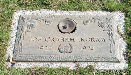 INGRAM, JOE GRAHAM - Saline County, Arkansas | JOE GRAHAM INGRAM - Arkansas Gravestone Photos