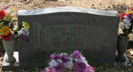IRWIN, ROSIE - Saline County, Arkansas | ROSIE IRWIN - Arkansas Gravestone Photos
