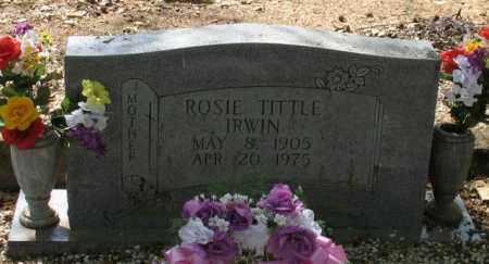 GARRETT IRWIN, ROSIE - Saline County, Arkansas | ROSIE GARRETT IRWIN - Arkansas Gravestone Photos