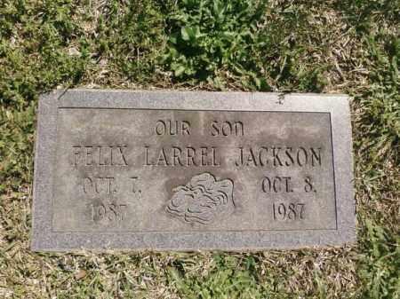JACKSON, FELIX LARREL - Saline County, Arkansas | FELIX LARREL JACKSON - Arkansas Gravestone Photos
