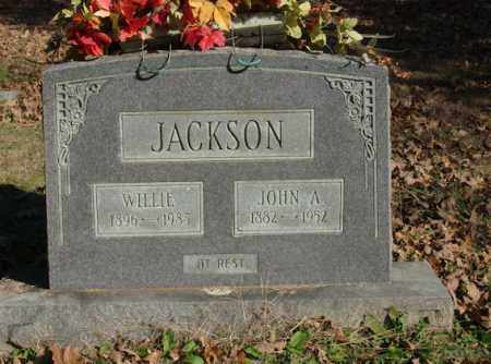 JACKSON, WILLIE - Saline County, Arkansas | WILLIE JACKSON - Arkansas Gravestone Photos