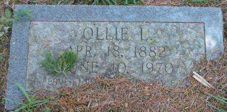 JACKSON, OLLIE L - Saline County, Arkansas | OLLIE L JACKSON - Arkansas Gravestone Photos