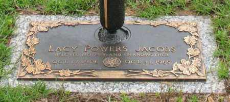 POWERS JACOBS, LACY - Saline County, Arkansas | LACY POWERS JACOBS - Arkansas Gravestone Photos