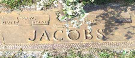 JACOBS, LEO M. - Saline County, Arkansas | LEO M. JACOBS - Arkansas Gravestone Photos