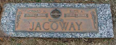 JOHNSON JACOWAY, RUTH ADLEE - Saline County, Arkansas | RUTH ADLEE JOHNSON JACOWAY - Arkansas Gravestone Photos