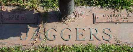 JAGGERS, CARROLL R. - Saline County, Arkansas | CARROLL R. JAGGERS - Arkansas Gravestone Photos