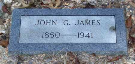 JAMES, JOHN G. - Saline County, Arkansas | JOHN G. JAMES - Arkansas Gravestone Photos