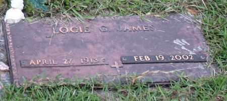 JAMES, LOCIE GLADYS - Saline County, Arkansas | LOCIE GLADYS JAMES - Arkansas Gravestone Photos