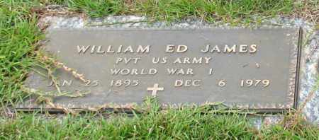 JAMES (VETERAN WWI), WILLIAM ED - Saline County, Arkansas | WILLIAM ED JAMES (VETERAN WWI) - Arkansas Gravestone Photos