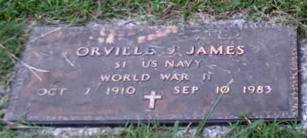 JAMES (VETERAN WWII), ORVILLE J. - Saline County, Arkansas | ORVILLE J. JAMES (VETERAN WWII) - Arkansas Gravestone Photos