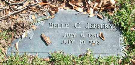 JEFFERY, BELLE C. - Saline County, Arkansas | BELLE C. JEFFERY - Arkansas Gravestone Photos
