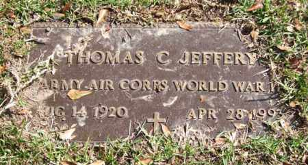 JEFFERY (VETERAN WWII), THOMAS C - Saline County, Arkansas | THOMAS C JEFFERY (VETERAN WWII) - Arkansas Gravestone Photos
