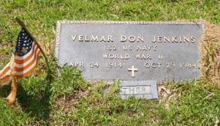 JENKINS (VETERAN WWII), VALMAR D - Saline County, Arkansas | VALMAR D JENKINS (VETERAN WWII) - Arkansas Gravestone Photos