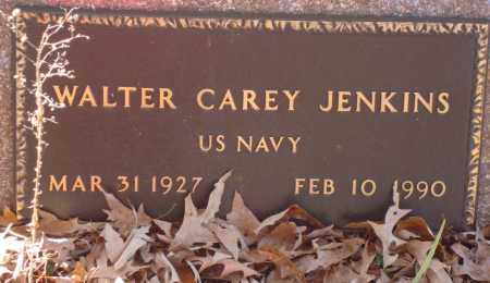 JENKINS (VETERAN), WALTER CAREY - Saline County, Arkansas | WALTER CAREY JENKINS (VETERAN) - Arkansas Gravestone Photos