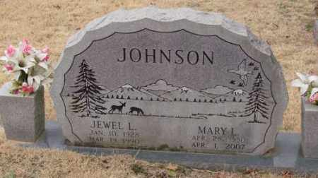 JOHNSON, JEWEL L - Saline County, Arkansas | JEWEL L JOHNSON - Arkansas Gravestone Photos