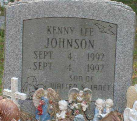 JOHNSON, KENNY LEE - Saline County, Arkansas | KENNY LEE JOHNSON - Arkansas Gravestone Photos