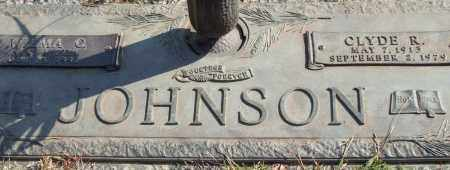 JOHNSON, CLYDE R. - Saline County, Arkansas | CLYDE R. JOHNSON - Arkansas Gravestone Photos