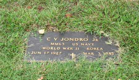 JONDRO, JR. (VETERAN 2 WARS), C. V. - Saline County, Arkansas | C. V. JONDRO, JR. (VETERAN 2 WARS) - Arkansas Gravestone Photos