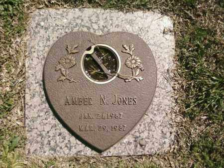 JONES, AMBER N. - Saline County, Arkansas | AMBER N. JONES - Arkansas Gravestone Photos