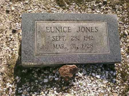 JONES, EUNICE - Saline County, Arkansas | EUNICE JONES - Arkansas Gravestone Photos