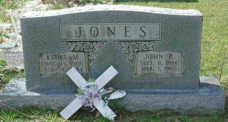 JONES, JOHN R. - Saline County, Arkansas | JOHN R. JONES - Arkansas Gravestone Photos