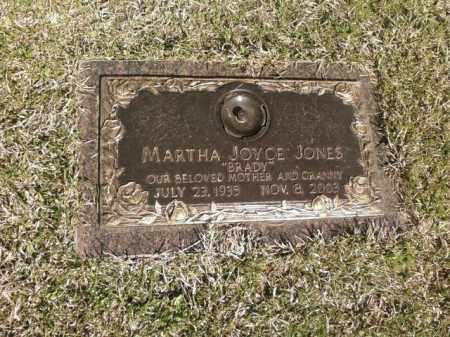 JONES, MARTHA JOYCE - Saline County, Arkansas | MARTHA JOYCE JONES - Arkansas Gravestone Photos