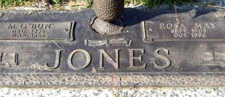 "JONES, M. O. ""BUN"" - Saline County, Arkansas 