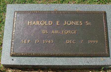 JONES, SR  (VETERAN), HAROLD E - Saline County, Arkansas | HAROLD E JONES, SR  (VETERAN) - Arkansas Gravestone Photos